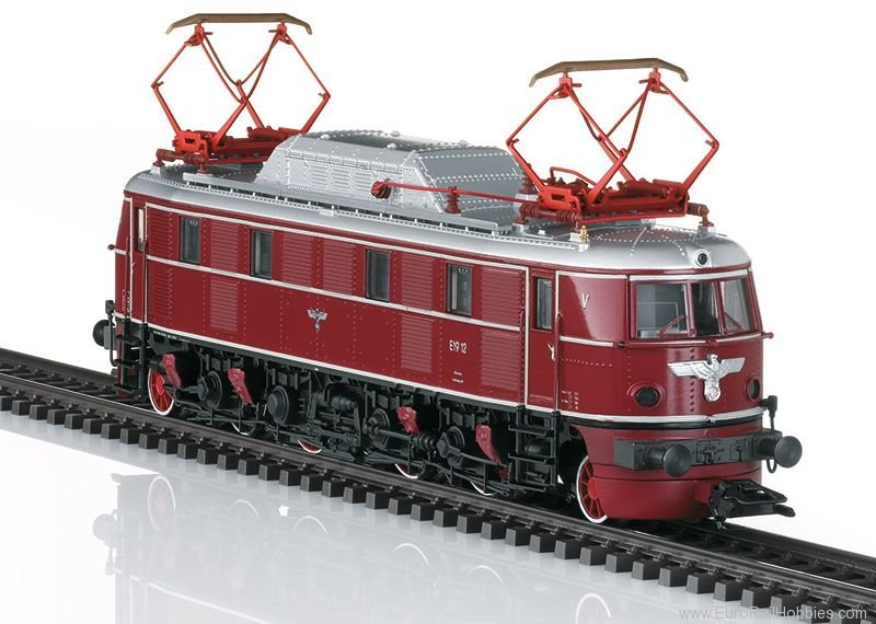 Trix 22919 DR Class E 19.1 Electric Locomotive DCC w/Sou