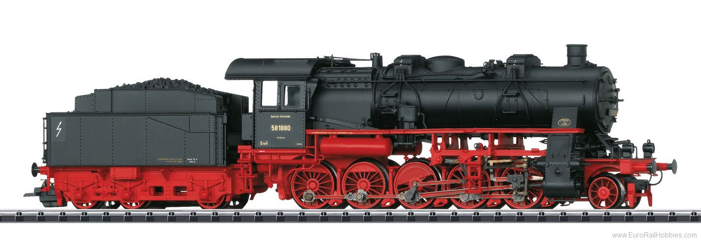 Trix 22937 DRG cl 58.10-21 Freight Steam Locomotive, w/D