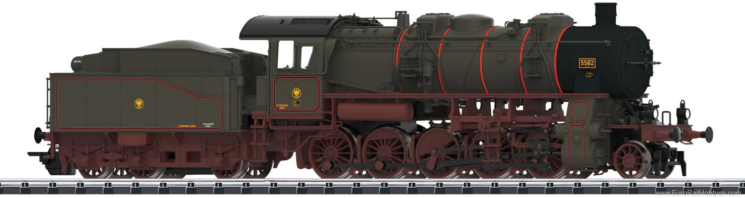 Trix 22959 Prussian Class G 12 Steam Freight Locomotive