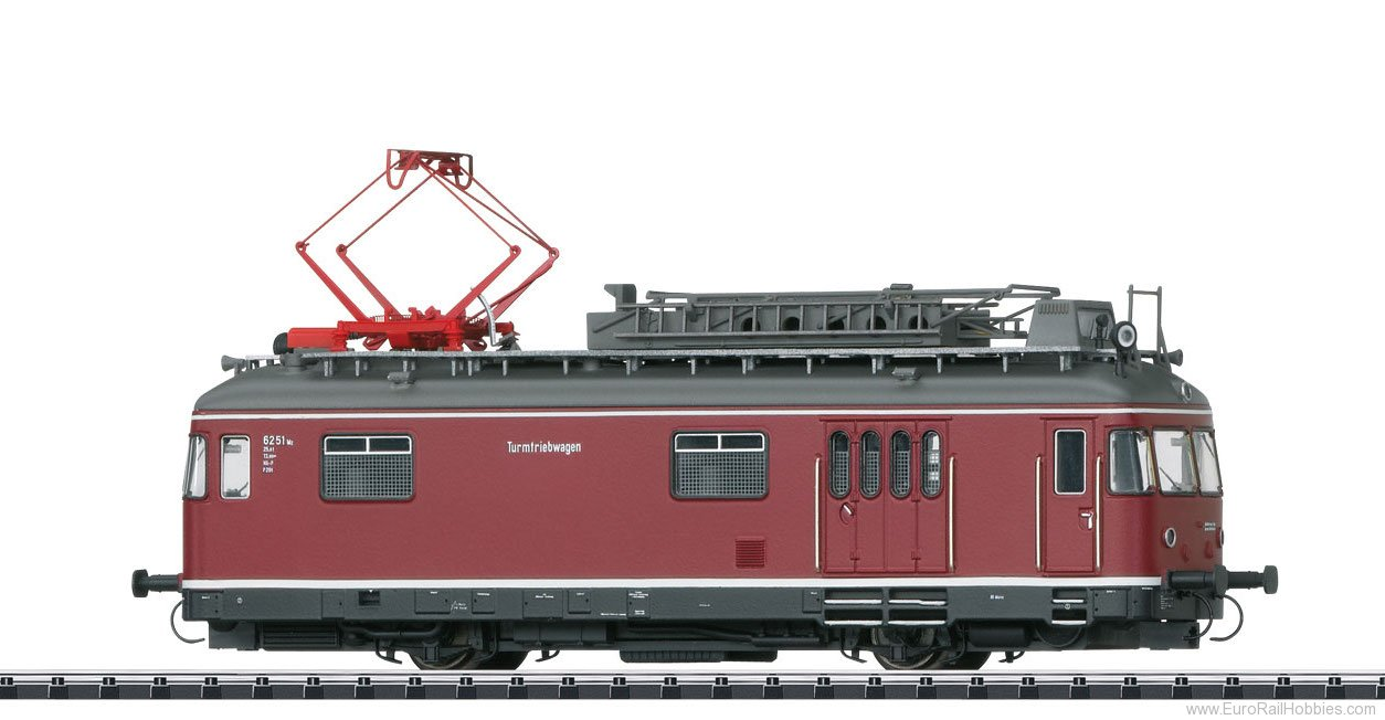 Trix 22974 DB TVT Powered Catenary Maintenance Rail Car,