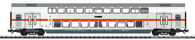 Trix 23248 DB AG IC2 Bi-Level Intermediate Car, 1st Clas