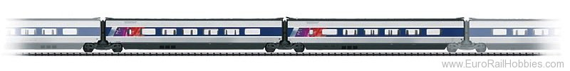 Trix 23439 Add-On Car Set 2 for the TGV POS 22364.