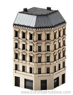 Trix 66145 Kit for a Corner Town House from the Wilhelmi