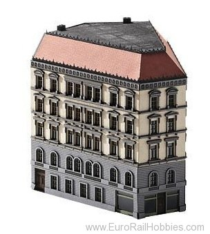 Trix 66146 Kit for a Angled Town House from the Wilhelmi