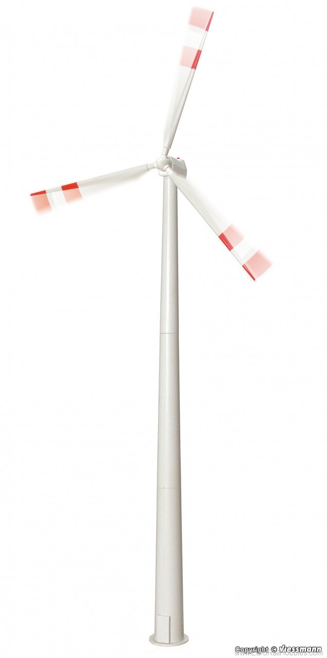 Viessmann 1370 H0 Wind power plant with rotating wings