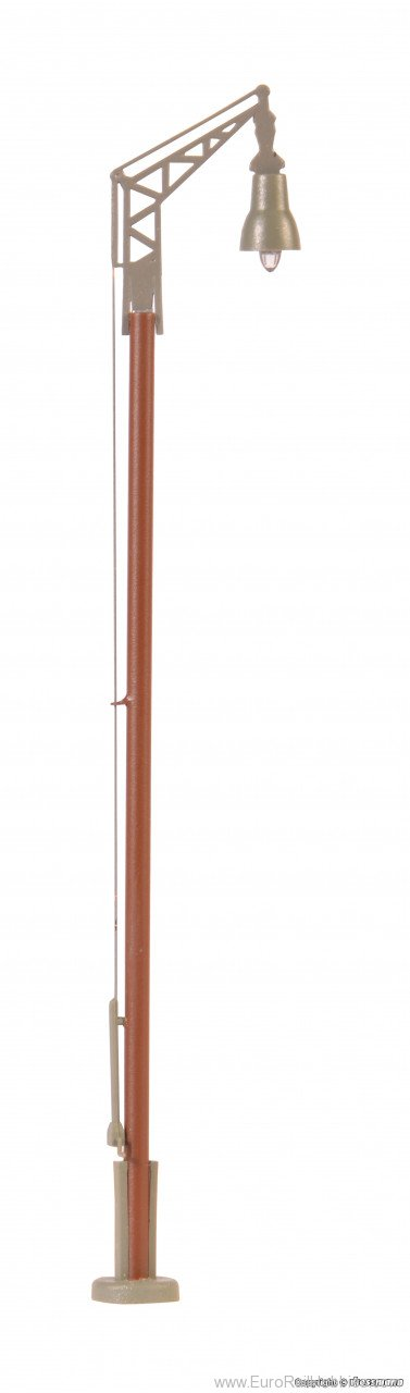 Viessmann 6061 HO Station lamp with wood mast