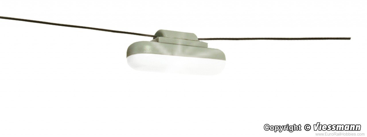 Viessmann 6366 H0 Light hanging with rope, LED white replace