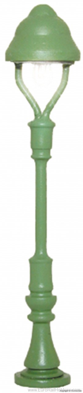 Viessmann 6411 N Standard gas lamp, green