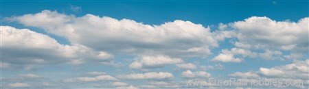 Vollmer 46105 Scenic Background Clouds in 2 parts