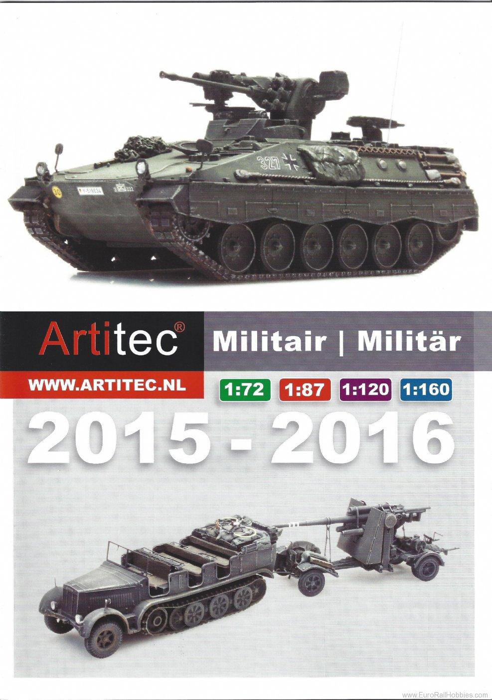 artitec 013 2015 2016 artitec military catalogArtitec #12