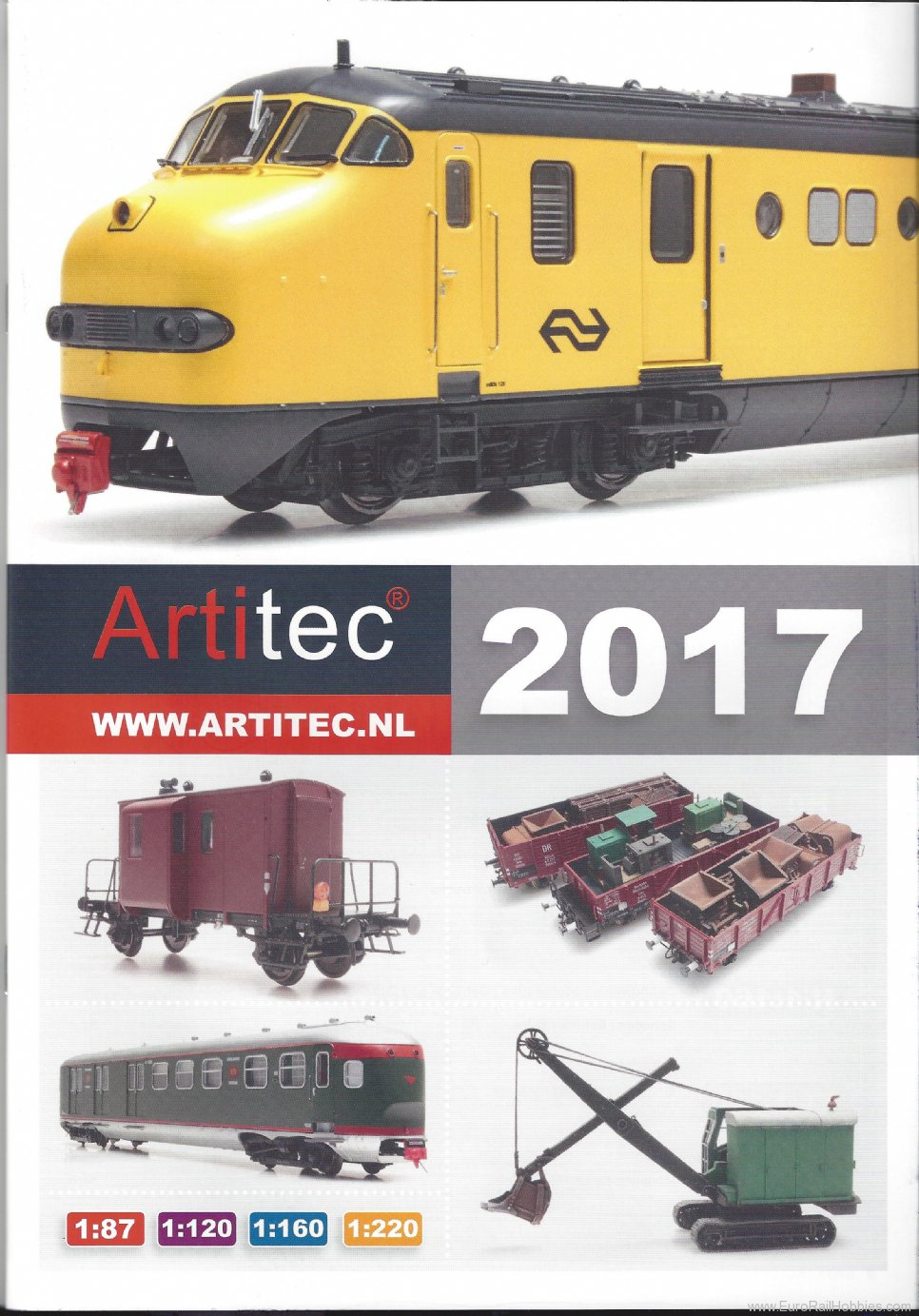 Artitec 014 2016-17 Artitec Main Catalog (not including M