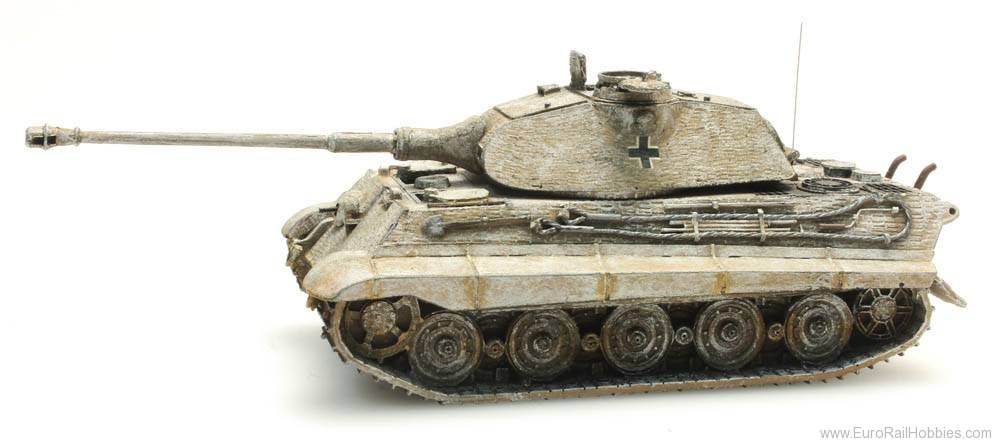 Artitec 387.75-WY German Army Tiger II w. Porsche and Zimmerit,