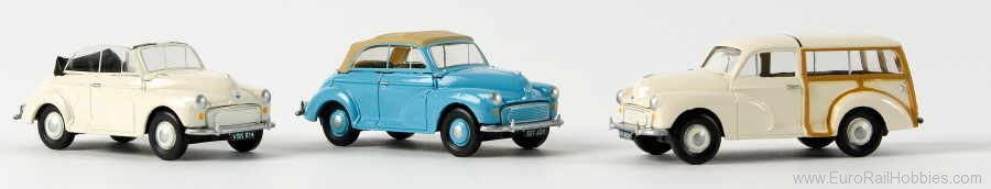 Brekina 76822 Cl Morris Minor Cabrio geschl. 1:76th Scale O