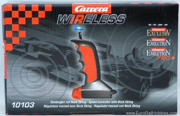 Carrera 10103 Carrera Evolution 1/24 & 1/32 Slot Car Wirele