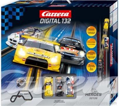 carrera digital 132  Carrera 30136 1/32 Carrera Digital 132 GT Heroes 3 Car