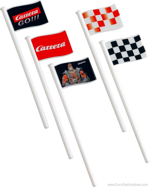 Carrera 61650 Flags (10) (1/43 scale)