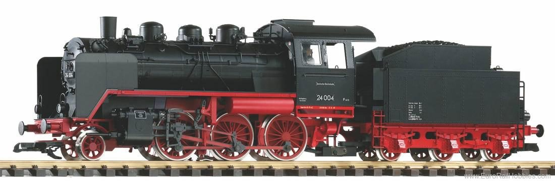 Piko 37222 DR III BR 24 Steam Loco, Wagner Smoke Deflect