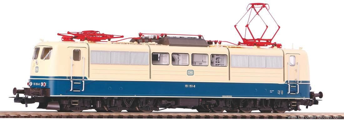 Piko 51311 Br 151 Electric locomotive DB era IV; AC vers