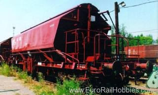 Piko 54300 4-Axle Covered Hopper Taoos894 DB V - Classic