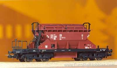 Piko 54320 4-Axle Covered Hopper Kkt22 DR III - Classic