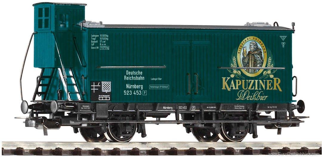 PIKO HO 54745 Beer Reefer Kapuziner DRG II
