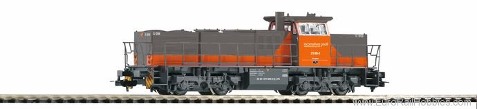 Piko 59820 G1206 Diesel Locomotives Pool (AC Digital)