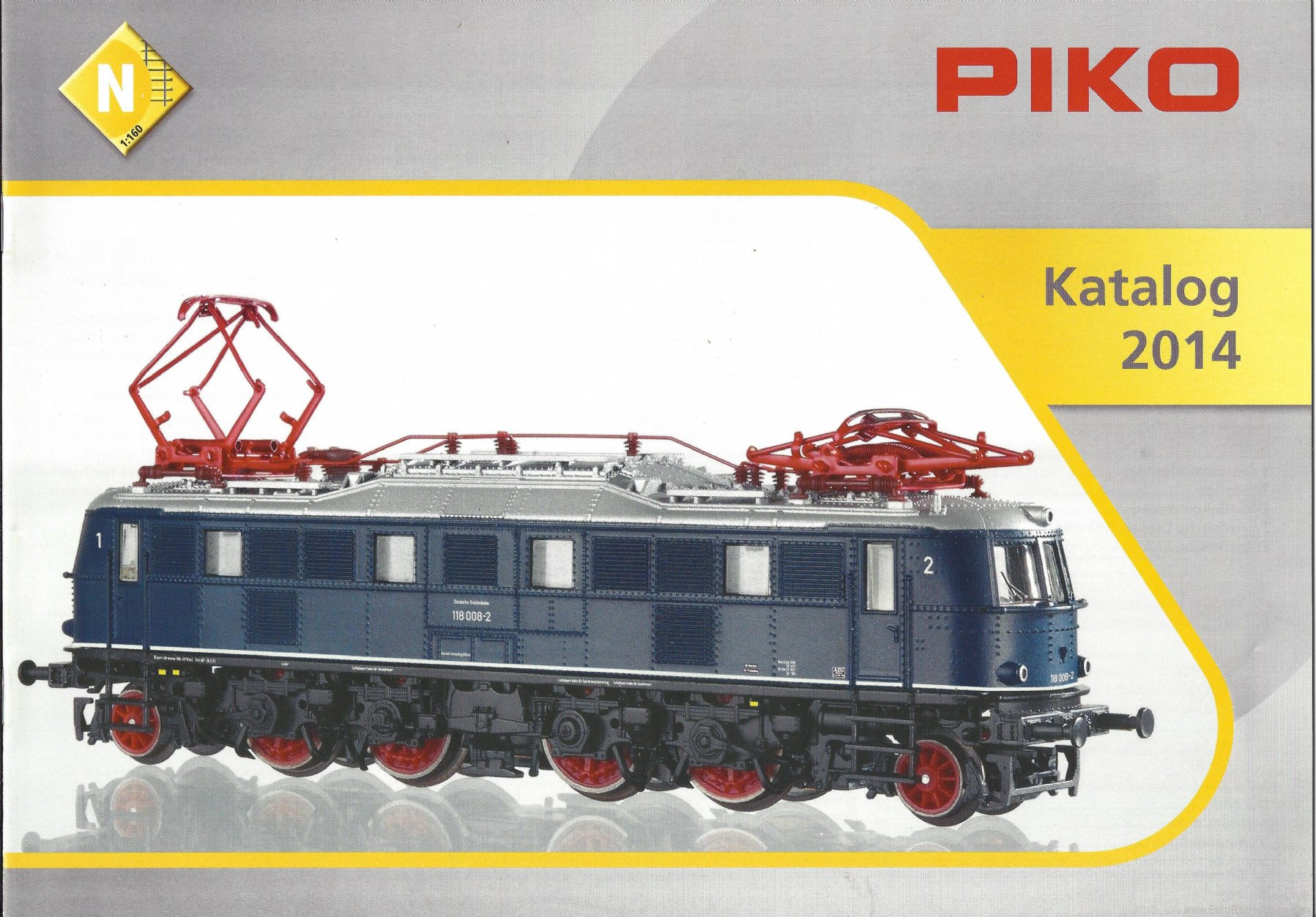 Piko 99694 2014 Piko N Scale  English Catalog