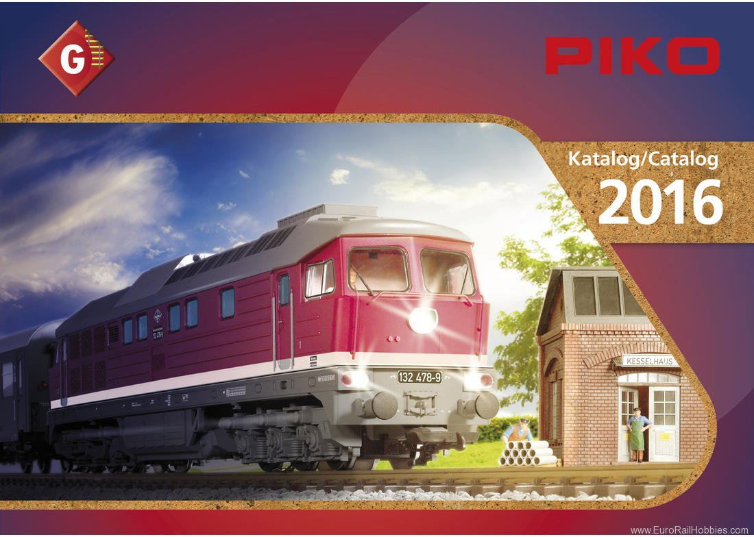 Piko 99706 2016 Piko G Scale Catalog German/English Edit