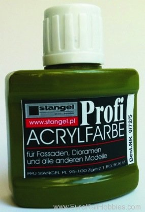 Stangel 0.72.5 Acrylic paint - Olive-green Pigments