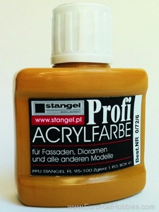 Stangel 0.72.6 Acrylic paint - Yellow-sand Pigments