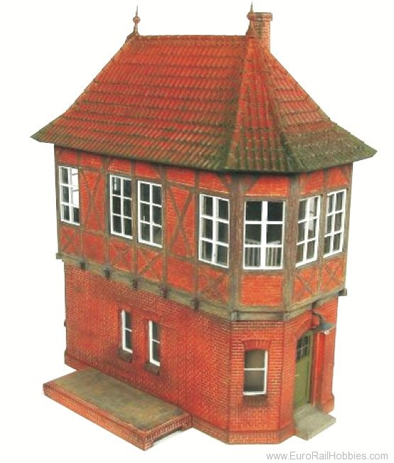Stangel BSHO.032.02 Signalbox with Tiled Roof