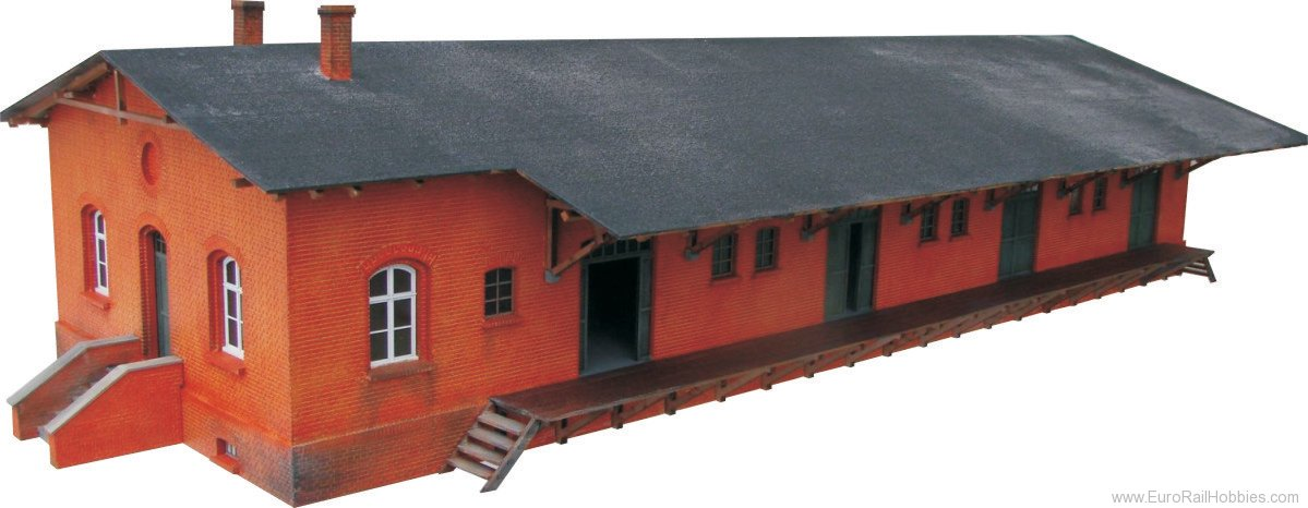 Stangel BSHO.033 Freight Shed with Admin. Building