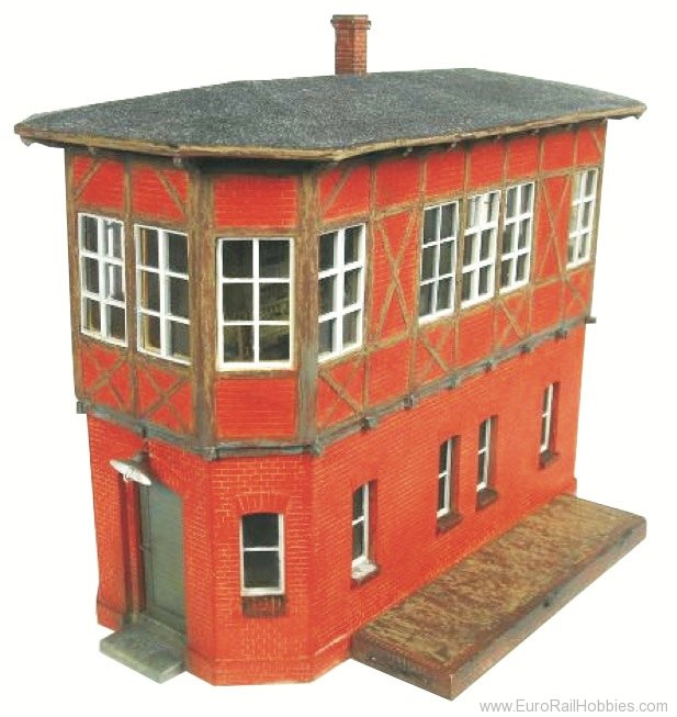 Stangel BSO.032.01 Signalbox with tar roof